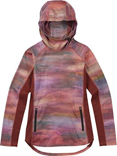 Burton Women's Crystal Pullover Hoodie - Jacket Burton Hooded Fleece