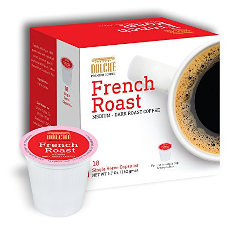 French Roast Premium Coffee K Cups 72 Count