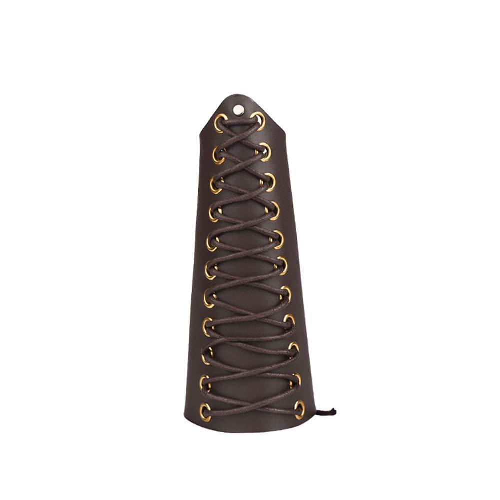 unisex Armstulpen f/ürs Bogenschie/ßen handgefertigt Armschutz Schutzausr/üstung Armschoner PHB02 echtes Rindsleder