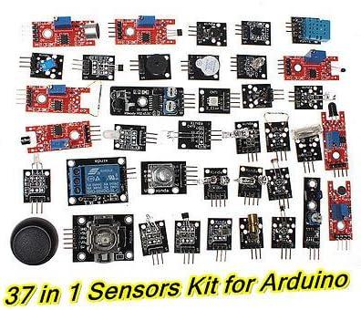 Generic Ultimate 37-in-1 Sensor OFFTEK caja para Arduino MCU Mega2560 UNO R3 Nano UK<1&1696*1>: Amazon.es: Electrónica