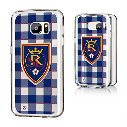 Keyscaper MLS Real Salt Lake Plaid Clear for Galaxy S7, Black by Keyscaper