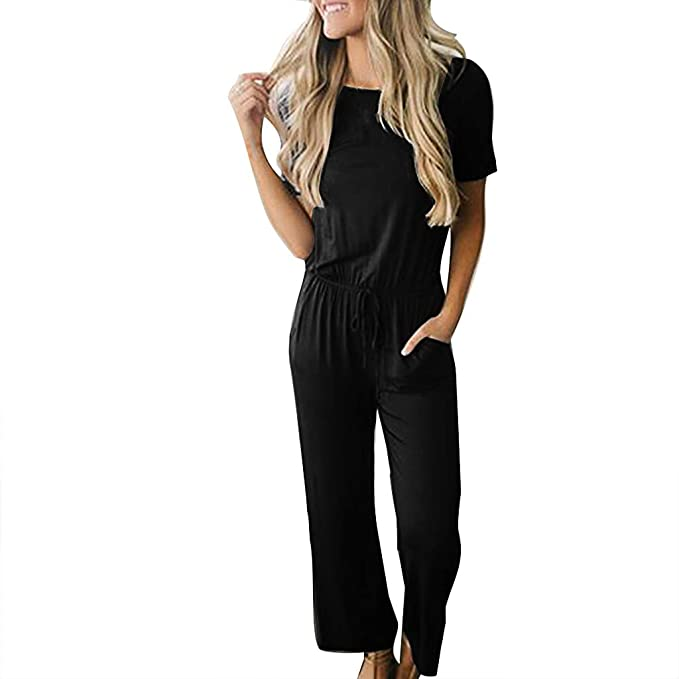 STRIR Mujer Casual Monos Mujer Sexy Largos Jumpsuit sin ...