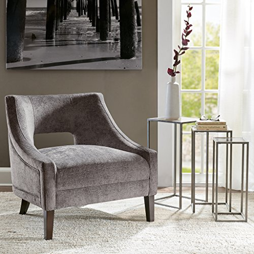 Whitney Accent Chair Gray See below