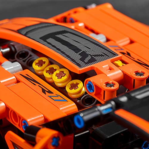 LEGO Technic Chevrolet Corvette Zr1 Replica, 2 in 1 Collectible Car Model, Advanced Construction Set