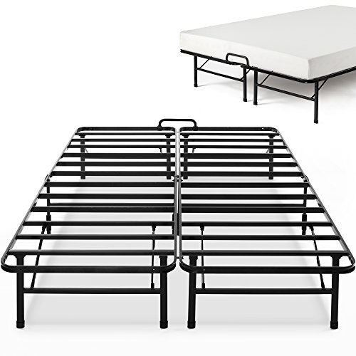 Zinus 14 Inch SmartBase Select with Mattress Stopper / Mattress Foundation / Platform Bed Frame / Box Spring Replacement, (Platform Beds Box Springs)