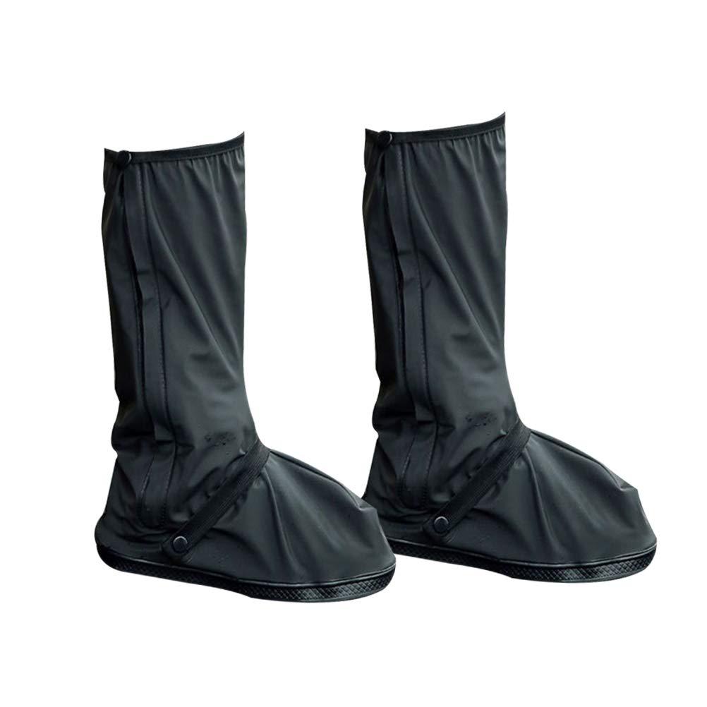 VORCOOL Cubierta de Zapato Impermeable, Fundas de Botas Reutilizables Botas de día lluvioso Equipo de Viaje para Hombres Mujeres (M)
