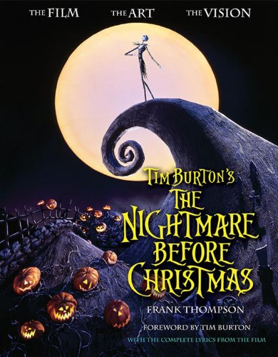 Tim Burton Nightmare Before Christmas Artwork.Tim Burton S The Nightmare Before Christmas The Film The