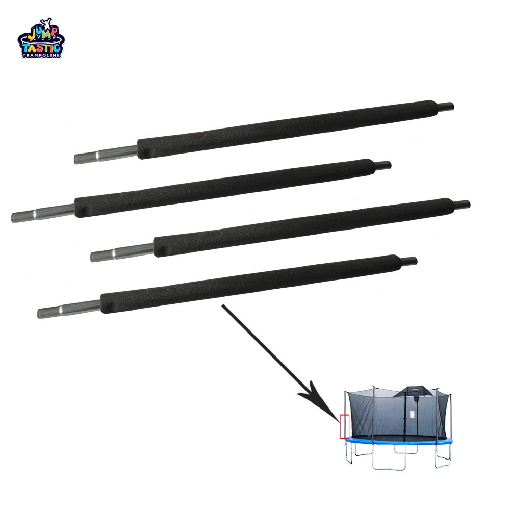 Kugo Sports Trampoline Replacement Bottom Pole for Jumptastic Trampoline Enclosure/Set of 4 by Kugo Sports