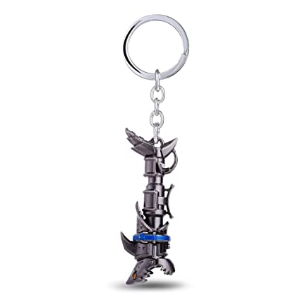 Mct12 - Game Gifts League of Jinx Cannon LOL Keychain Gray ...