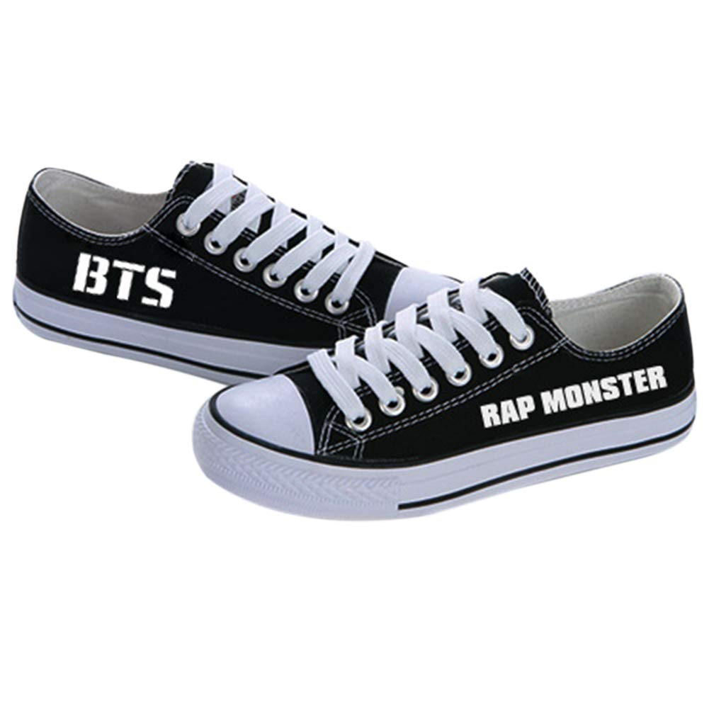 Discovery Kpop BTS Chaussures en Toile
