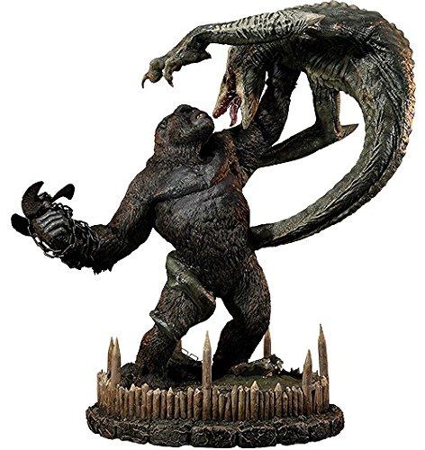 コング VS スカルクローラー DX版 「キングコング 髑髏島の巨神」 アルティメットジオラママスターライン スタチューの商品画像