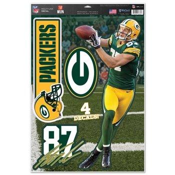 Green Bay Packers Jordy Nelson 11''x17'' Multi-Use Decal Sheet (Packer Jordy)