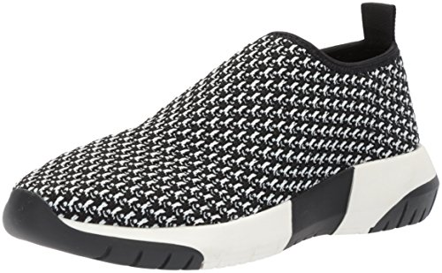 Slip Sneaker Black Womens Fix Knit The White On Textile Laylah Jogger qt6n0Y