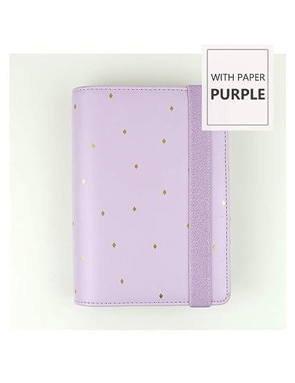 ZXSH Cuaderno Organizador Gapbook A5 Macaron Notebook Agenda ...