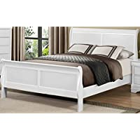 Mayville Bed In White - Full