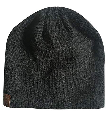Loneflash Beanie Hat,Winter Bluetooth Music Hat with Stereo Headphone Headset Speaker Wireless Warm Cap