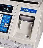 CAS LP1000N Label Printing Scale, 30lbs