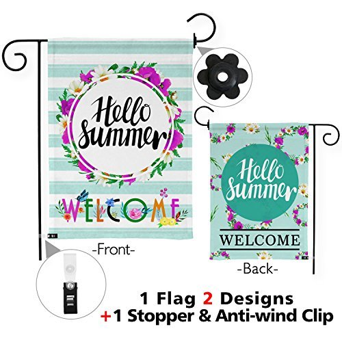 Snapmade Nice Design Hello Summer & Welcome Flowers Summer P