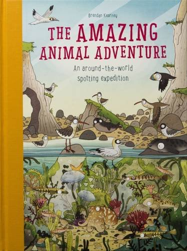 Download Amazing Animal Adventure: An Around-the-World Spotting Expedition pdf
