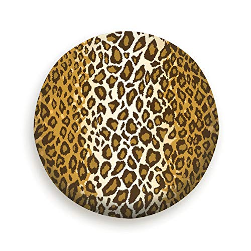 shower curtain liner Tire Cover Cheetah Leopard Fur Repeating Tile Animal Polyester Universal Spare Wheel Tire Cover Wheel Covers Jeep Trailer Rv SUV Truck Camper Travel Trailer Accessories