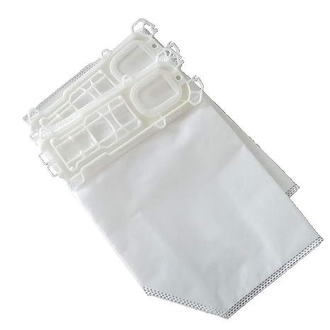 Lote de bolsas de aspiradora Clean Fairy 6 bolsas para aspiradoras Vorwerk VK135 y VK136 Plus 1 filtro HEPA, 1 filtro de motor
