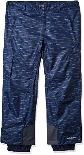 (Columbia Men's Big-Tall Ridge 2 Run II Pants, 1X/Regular, Collegiate Navy Texture)