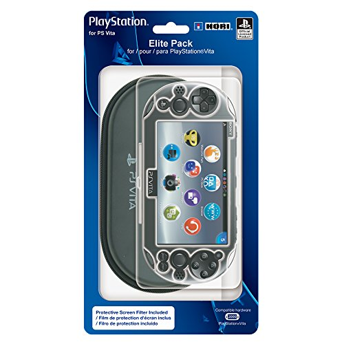 HORI Elite Pack Protective Starter Kit for PlayStation Vita -