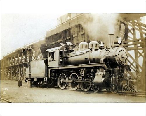- 10x8 Print of Steam Train (4436243)