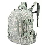 40L Outdoor Expandable Tactical Backpack Military Sport Camping Hiking Trekking Bag (08002A ACU)