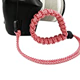 fibgihc 1pcs Chic Hand-made Parachute Rope Camera Wristband For Sale