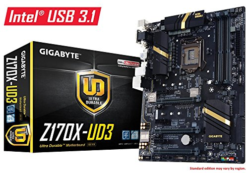 Gigabyte Ultra Durable Z170X-UD3 Desktop Motherboard - Intel