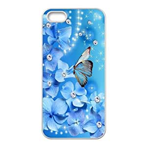 Butterfly iPhone 4 4s Cell Phone Case White W9888108