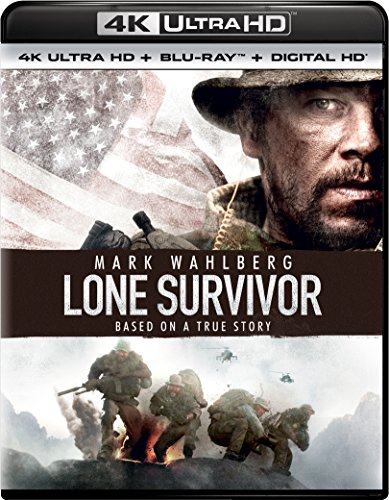 4K Blu-ray : Lone Survivor (Ultraviolet Digital Copy, 4K Mastering, 2 Pack, Snap Case, Slipsleeve Packaging)