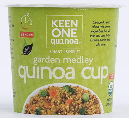 Price comparison product image Keen One Quinoa Organic Quinoa Cup: Garden Medley Case of 6