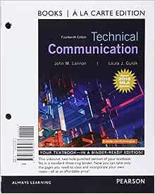 Technical communication mla update books a la carte edition