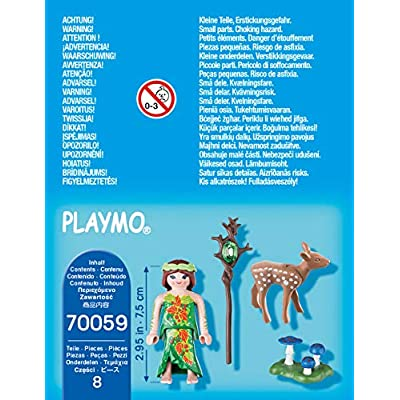 PLAYMOBIL 70059 Special Plus Fairy with Deer: Toys & Games