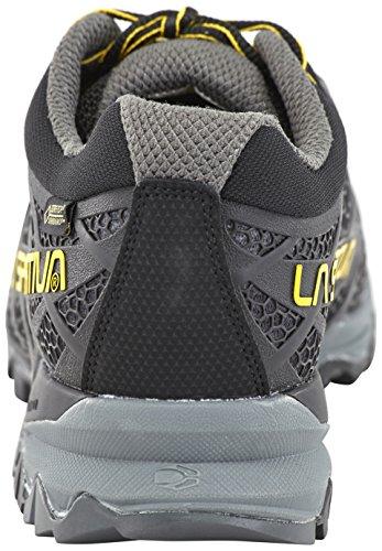 La Sportiva M Primer Low GTX–Nero/Giallo–EU 44.5/UK 10/US 11–da uomo impermeabile traspirante escursionismo scarpe
