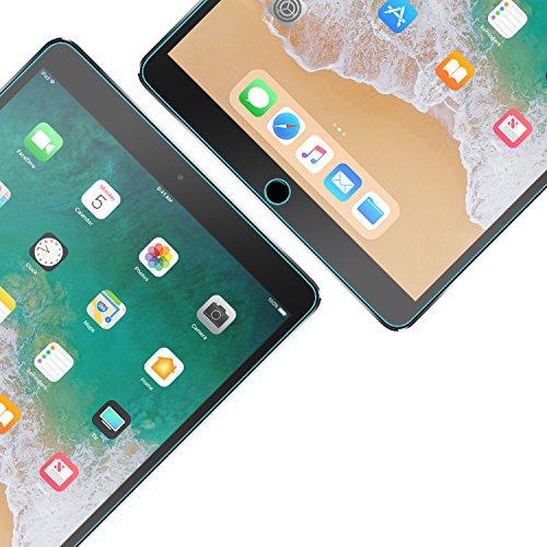 iPad Air Screen Protector, Tech Armor High Definition HD-Clear Film Screen Protector for Apple iPad Air / Air 2 / NEW iPad 9.7 (2017) [2-Pack]