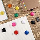 Patelai 48 Pieces Mini Fridge Magnets Round