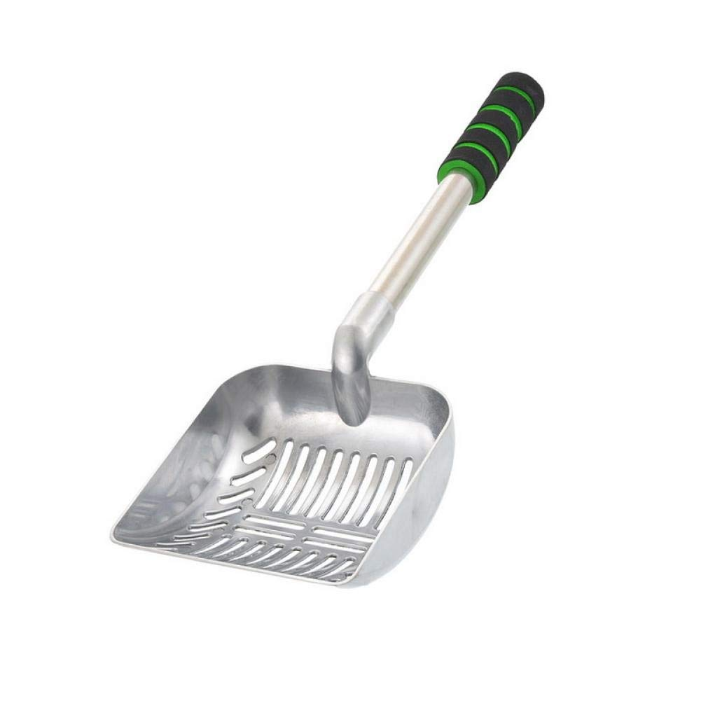 LJVOVN Cat Litter Shovel Sieve cat Shovel Holder pet Feces cat Litter Shovel Iron Shovel Cleaning pet Care Tools can be Applied to Cats and Dogs Toilet by LJVOVN