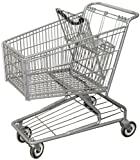 R. W. ROGERS RWR-PRE-172W Model #172W Shopping Cart, Dark Gray