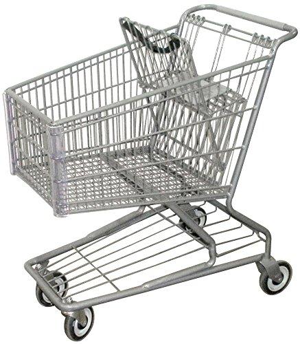 R. W. ROGERS RWR-PRE-172W Model #172W Shopping Cart, Dark - Rogers Shopping