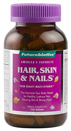 Futurebiotics Hair, Skin, & Nails Beauty Multivitamin, 135 Tablets ()