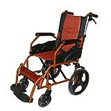 Wheelchair-Light weight,foldable back rest& flip-up leg rest