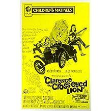 CLARENCE, THE CROSS-EYED LION (1965) Original Authentic Movie Poster - 27x41 One Sheet - Single-Sided - FOLDED - Marshall Thompson - Richard Haydn