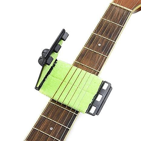 La herramienta de limpieza para cuerdas de guitarra: Amazon.es: Instrumentos musicales
