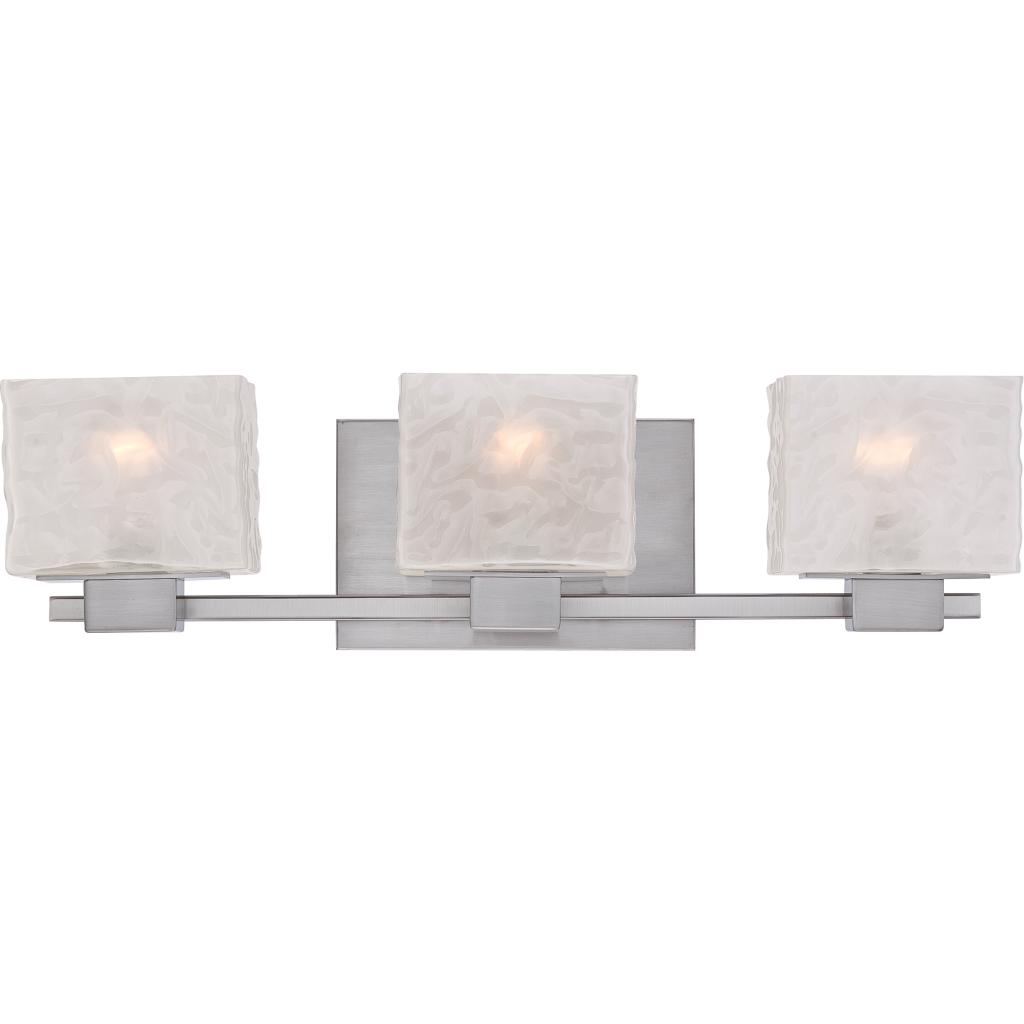 Quoizel MLD8603BN Melody 3-Light Bath Light, Brushed Nickel ...