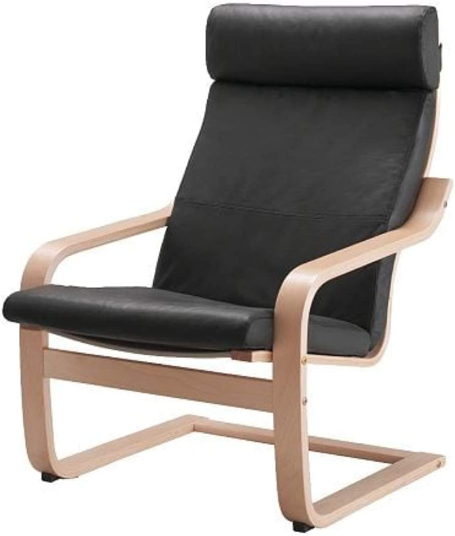Amazon.com: IKEA Poang Chair Cushion Robust Glose Black ...