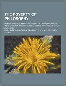 philosophy of poverty proudhon pdf