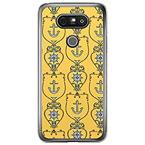 Loud Universe LG G5 Nautica Nautical 12 Printed Transparent Edge Case - Yellow